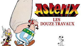 Asterix les douze travaux (1976)