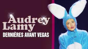 AUDREY LAMY : DERNIÈRES AVANT VEGAS (2012)