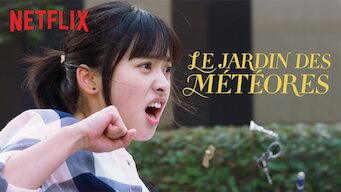 Le jardin des météores (2018)