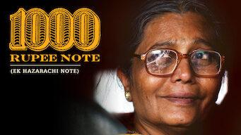 1000 Rupee Note (2014)